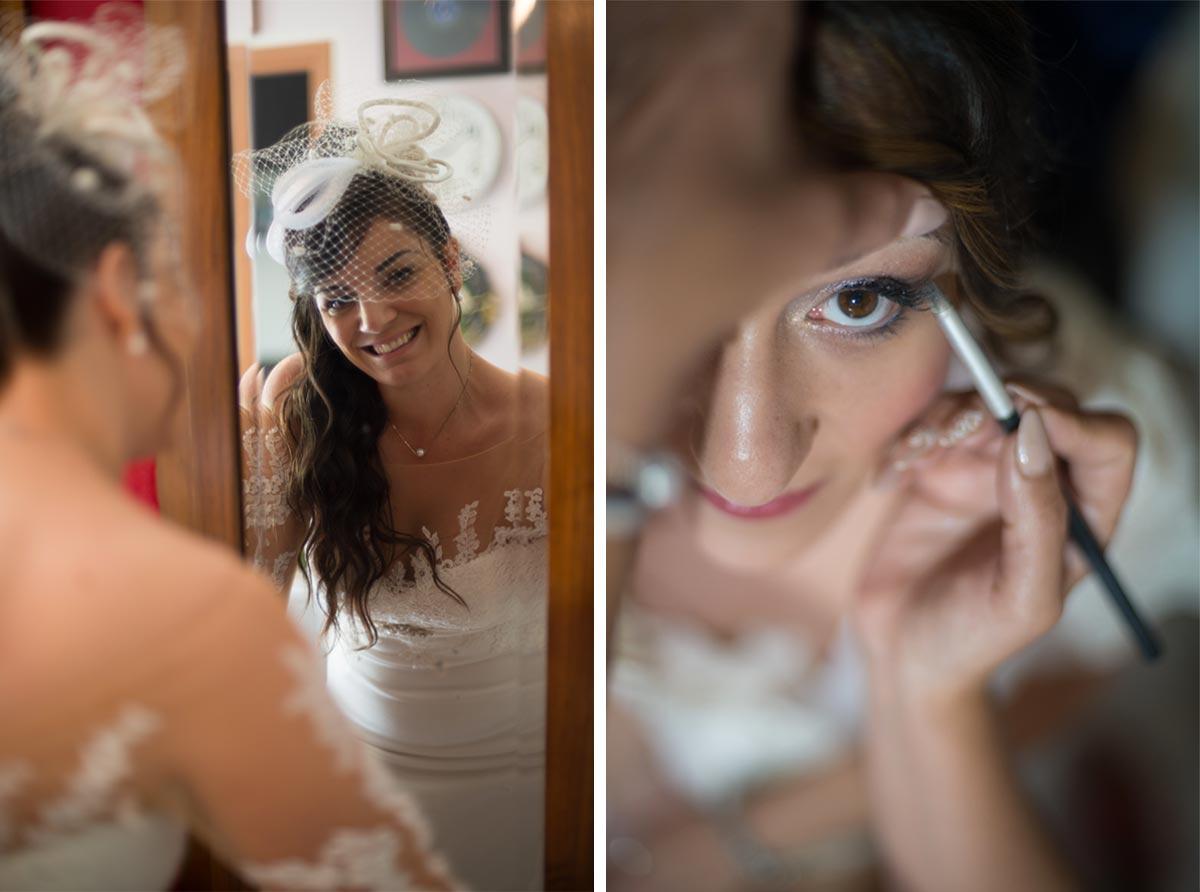 Preparativi foto matrimonio
